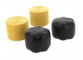 Lot de 2 balles de paille rondes et 2 balles noires Bruder 2345