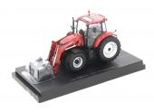 Tracteur Case Farmall 115 U avec chargeur UH 4273