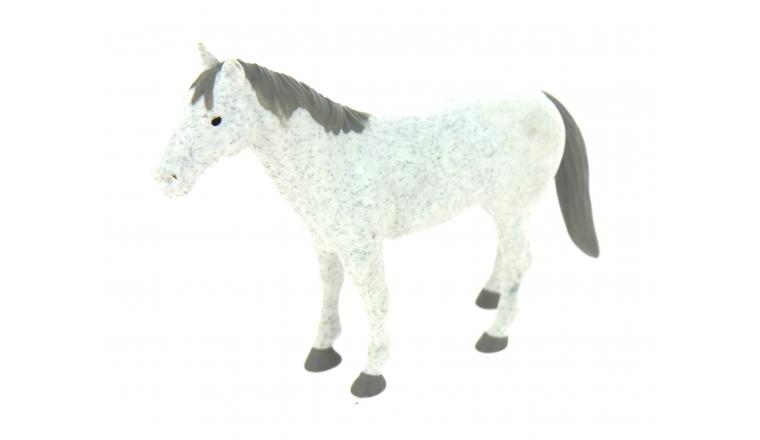 Cheval Noir ou Blanc échelle 1/16 Bruder 2306