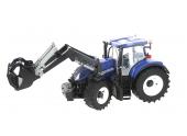 Tracteur New Holland T7.315 avec chargeur à l\'échelle 1/16 Bruder 3121