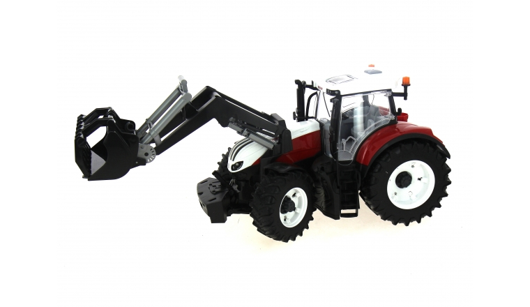 Tracteur Steyr 6300 Terrus CVT avec chargeur Bruder 3181