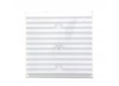 Grille PVC réglable en applique 245x245mm - DMO