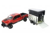 Pick up RAM avec van et cheval Bruder 2501