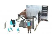 Ecurie Bruder avec cavalière, cheval et accessoires Bruder 62506