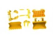 Accessoires pour chargeur frontal jaune échelle 1/32 Siku 7070