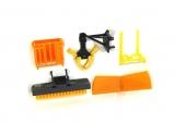 Accessoires pour chargeur frontal orange Siku 3661