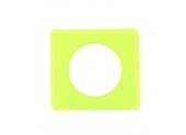 Plaque de Finition Simple Vert Anis Céliane - Ref 688 71 - Legrand