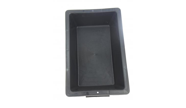 Auge Plastique Noire 12 Litres - Taliaplast