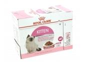 Sachets en Sauce pour Chaton Kitten Instinctive 12x85gr Royal Canin