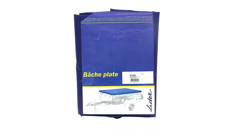 Bâche plate 01335 pour remorque bagagère Seville Alicante - Lider