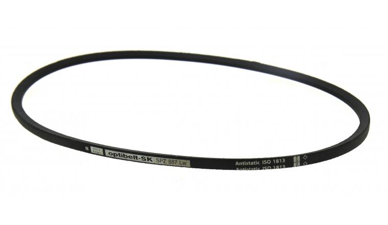 Courroie trapézoïdale lisse SPZ887 Li 850mm Le 900mm Lw 887mm - Codex