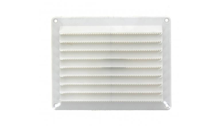 Grille plastique rectangulaire 150x200mm blanc DMO