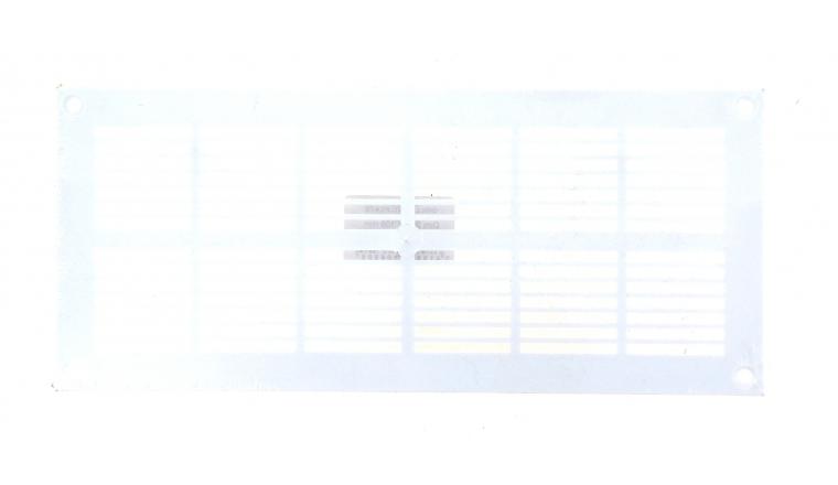 Grille plastique rectangulaire 251x105mm DMO