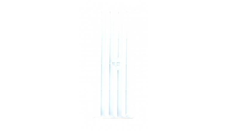 Grille plastique réglable 245x95mm en applique DMO