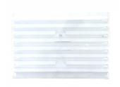 Grille plastique rectangulaire réglable 245x170mm DMO