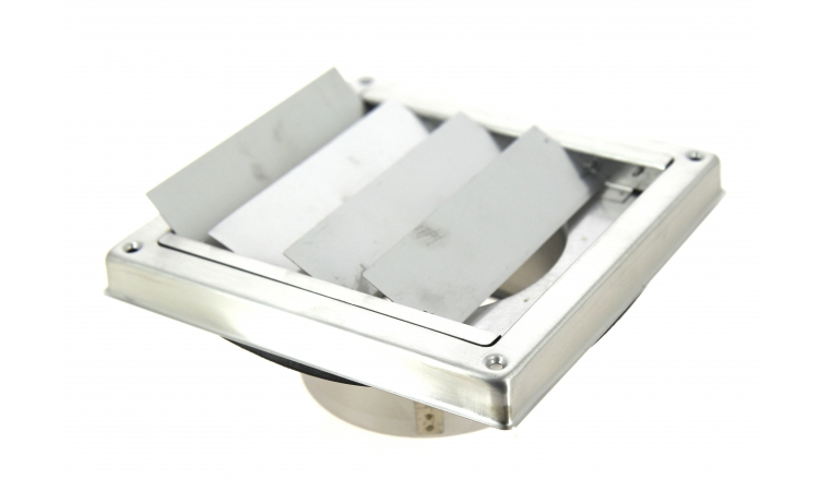 Grille à clapet inox diamètre 100 mm DMO 96320