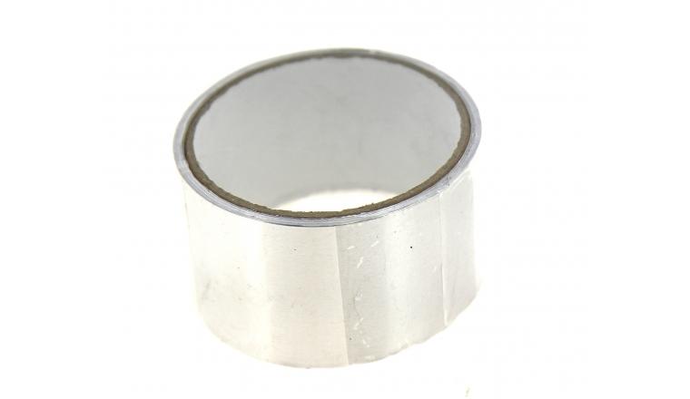 Bande autocollante Aluminium 50mmx5m 120° DMO 010040