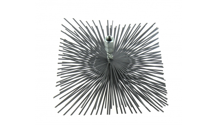 Hérisson carré en acier 200x200mm DMO