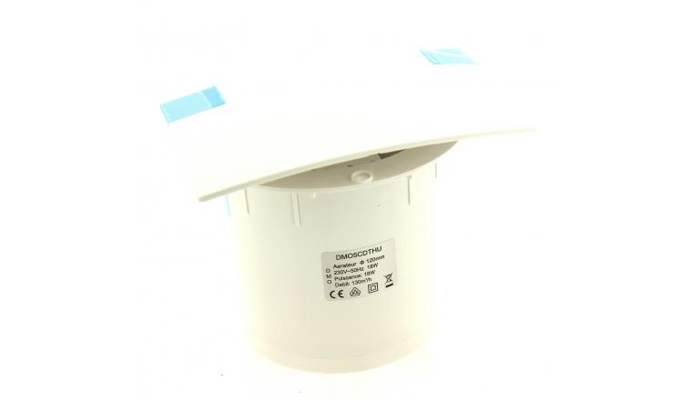 Extracteur avec sonde d'humidité et timer D120 130m3/h DMO 72973