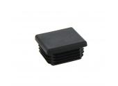 Bouchon plastique noir 40x40 Lider