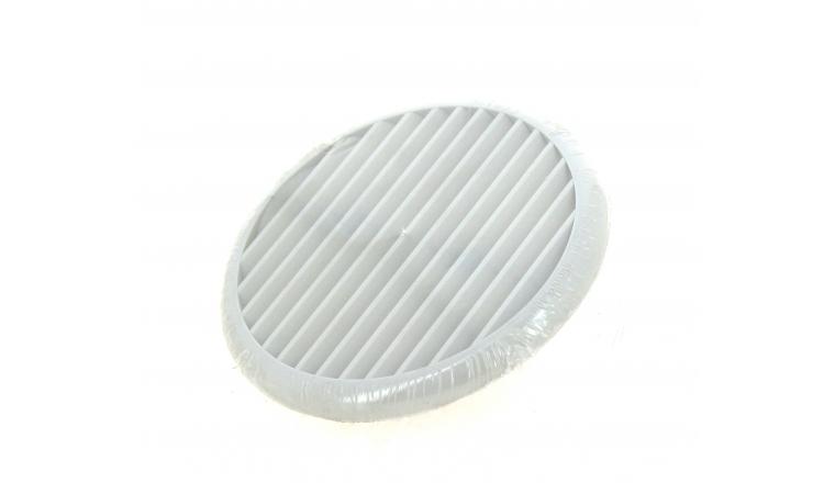 Grille en plastique ronde diamètre blanche 140 à 175 mm DMO