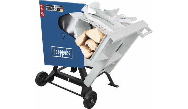 Scie à bûches électrique 3500W / 700mm avec Lame Carbure SCHEPPACH HS720