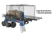 Fendeuse à bûche horizontale électrique 6,5 tonnes SCHEPPACH HL660