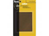 Verre teinté pour Masque Flip Flap - 110 x 90 mm - Ref 040762 - GYS