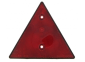 Triangle réfléchissant rouge