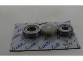 Jeu de 2 roulements coniques pour essieu 600kg NF 4T115